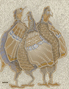 Turkeys by Shane Guinn