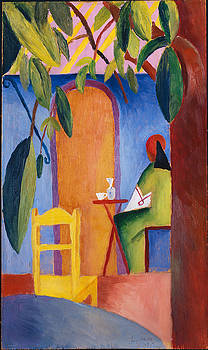August Macke - Turkish Cafe