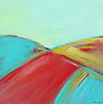 Turquoise Abstract by Brooke Baxter Howie