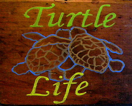 Turtle sign by M Gilroy