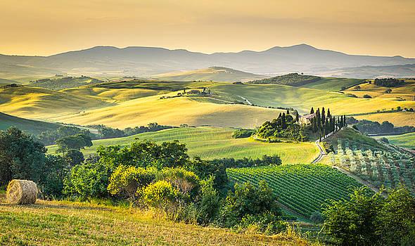 Tuscany morning by Stefano Termanini