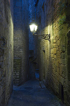 Twilight at the medieval city of Sarlat France by Arabesque Saraswathi