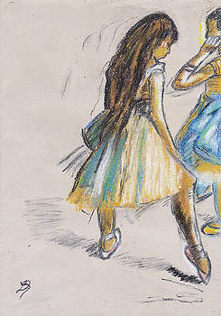Two Dancers by Laura Seed