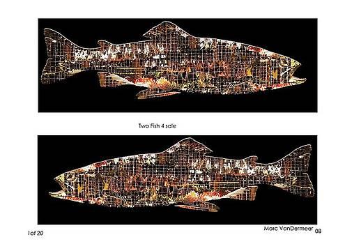 Two Fish by Marc VanDermeer