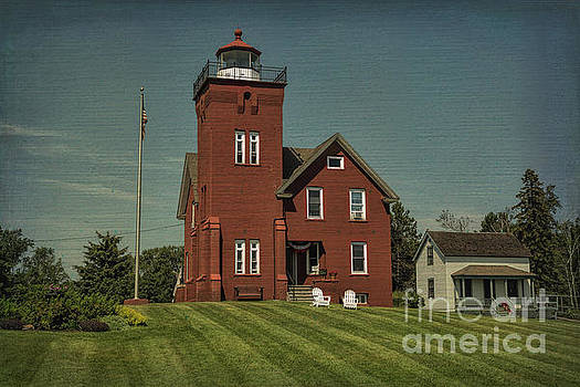 Two Harbors Lighthouse by Gary Rieks