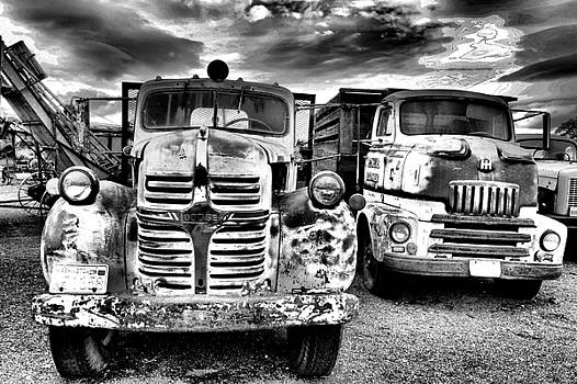 Two old beauties by Jeff Swan