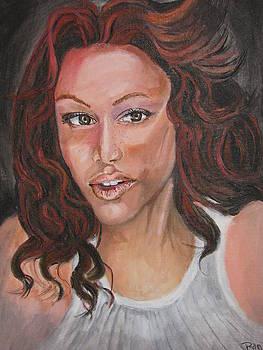 Tyra Banks by Thomasina Marks