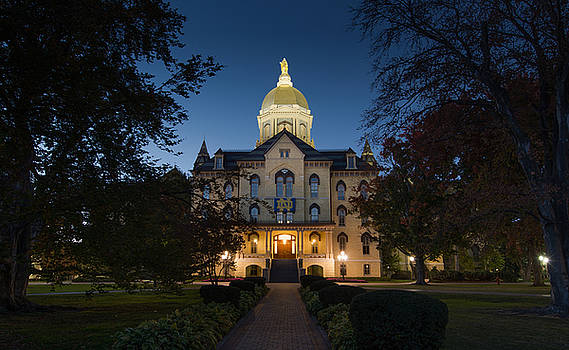 University of Notre Dame by Mary Pat Collins