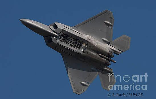 US Air Force F-22 Raptor at Oshkosh 2008 by Antoine Roels