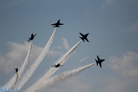 U.S. Navy Blue Angels by Michael Rucker