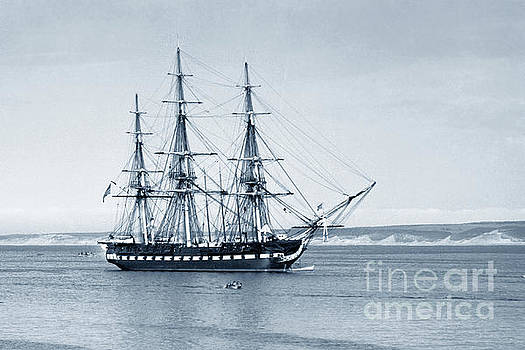 California Views Mr Pat Hathaway Archives - USS Constitution Old Ironsides in Monterey Bay Oct. 1933