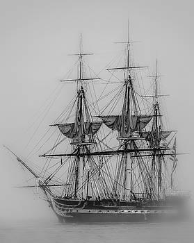 USS Constitution by Robert Mitchell