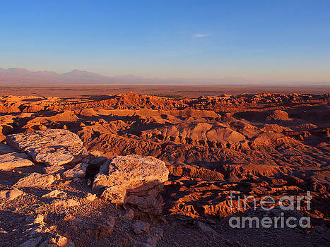 Valle de la Luna in the Atacama Desert Chile by Louise Heusinkveld