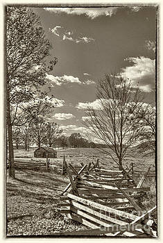 Valley Forge military camp by David Zanzinger