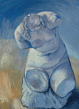 Van Gogh Female Torso by Vincent Van Gogh