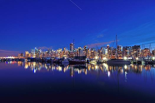 Vancouver Skyline by Kathy King