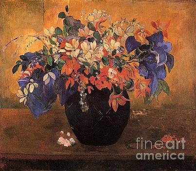 Gauguin - Vase Of Flowers