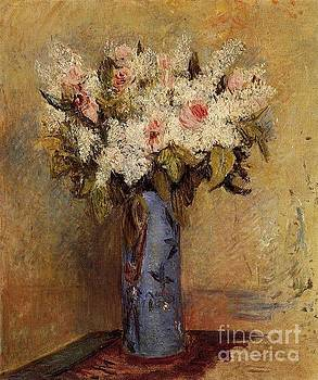 Renoir - Vase Of Lilacs and Roses