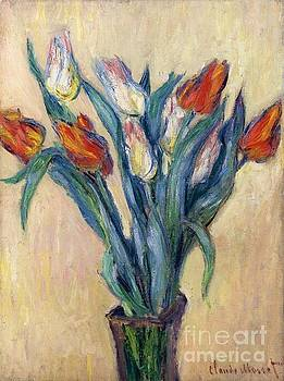 Monet - Vase Of Tulips