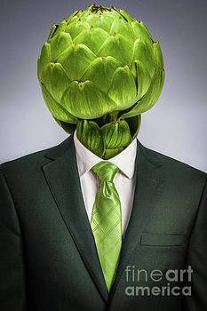 Vegan Man by Juan Silva