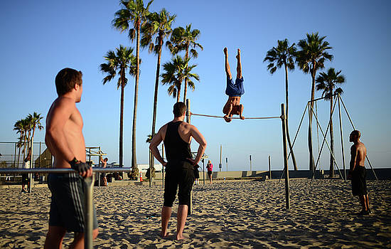 Venice Beach Calisthenics park by Nano Calvo