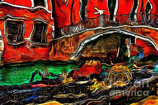 Venice Gondola by Milan Karadzic