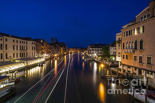Venice in the night by Deyan Georgiev