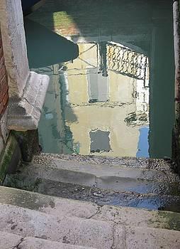 Venice Reflection by Simi Berman