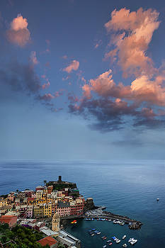 Vernazza from Above by Andrew Soundarajan