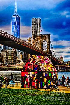 Mark Gilman - View From Brooklyn Bridge Park