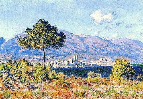 Monet - View Of Antibes