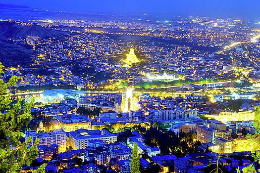 View of Tbilisi  by Fabrizio Troiani