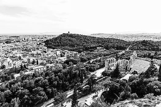 View over Athens by Michael Maximillian Hermansen
