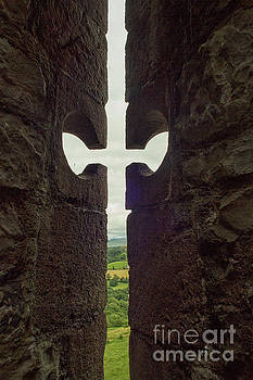 Patricia Hofmeester - View through loophole in medieval castle