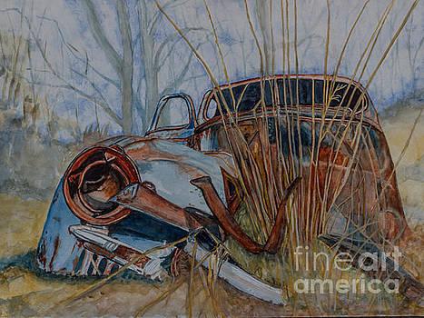 Vintage Car left behind by DJ Laughlin