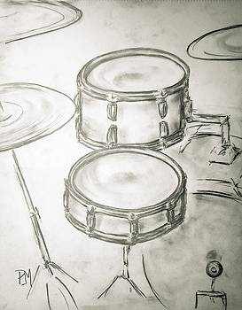 Vintage Drums II by Pete Maier