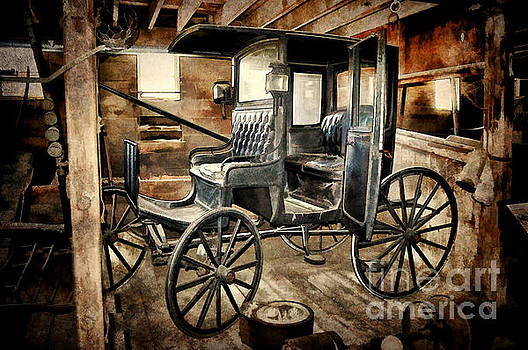 Vintage Horse Drawn Carriage  by Judy Palkimas