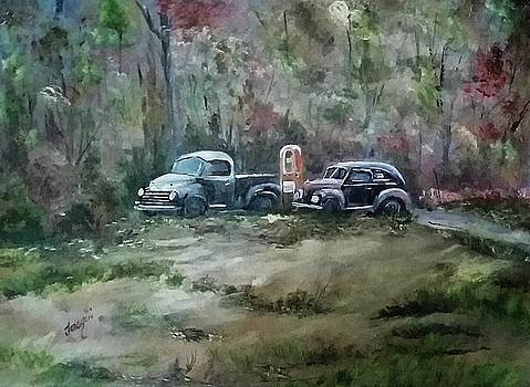 Vintage Vehicles by Jacqueline Whitcomb
