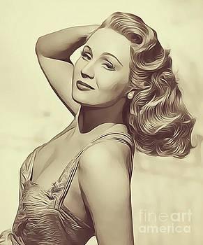 John Springfield - Virginia Mayo, Vintage Actress
