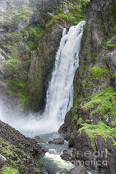 Compuinfoto - voringfossen waterfall in Norway