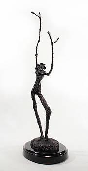 Adam Long - Votary of the Rain a sculpture by Adam Long