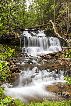 Wagner Falls by Amie Lucas