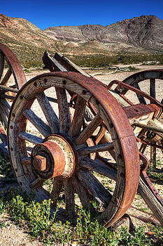 Wagon Wheels by James Marvin Phelps
