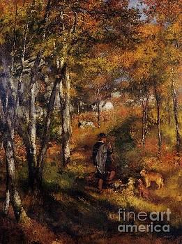 Renoir - Walking His Dogs