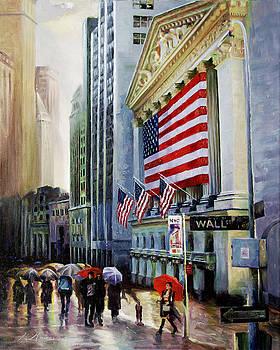 Wall Street  U S A by George Mamos
