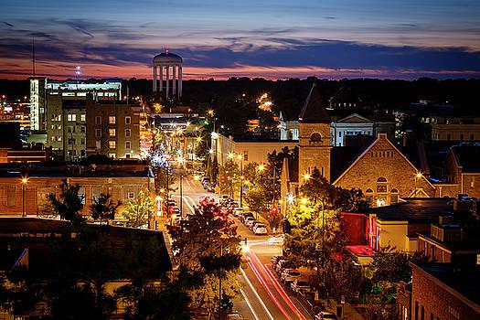 Walnut Street Columbia Missouri by Notley Hawkins