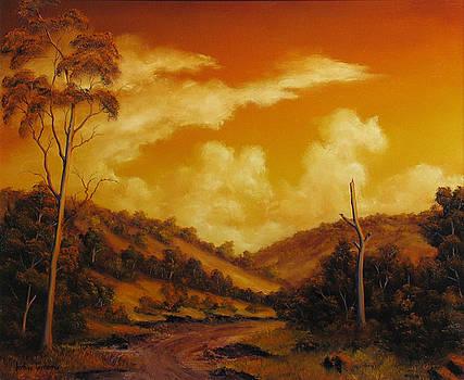 Warm Sunset by John Cocoris