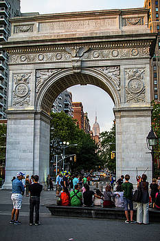 Washington Square Arch by Robert J Caputo