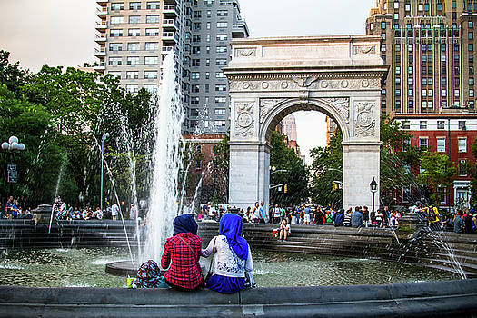 Washington Square Park by Robert J Caputo