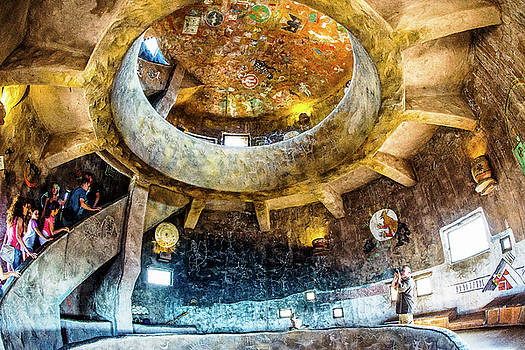 Watch tower - grand cayon by Hisao Mogi